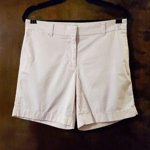 J. Crew | Light Blush Pink Chino Shorts 6